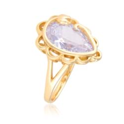 Pierścionek z dużym kryształemi - Xuping PP1984