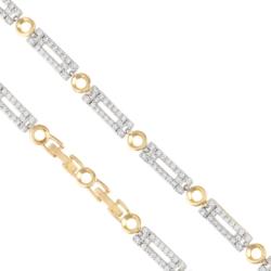 Bransoletka z kryształkami - Xuping - BP4266