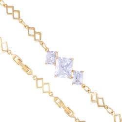 Bransoletka z kryształami - Xuping - BP4268