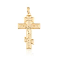 Przywieszka - krzyż prawosławny - Xuping - PRZ1995