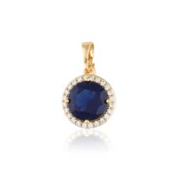 Przywieszka z niebieskim kryształem Xuping PRZ2002