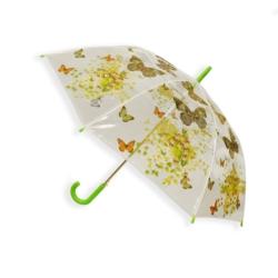 Parasol automatyczny długi foliowy - motyle PAR47