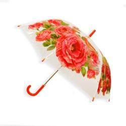 Parasol automatyczny długi foliowy - kwiaty PAR48