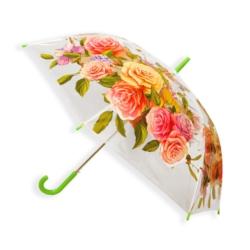 Parasol automatyczny długi foliowy - kwiaty PAR49