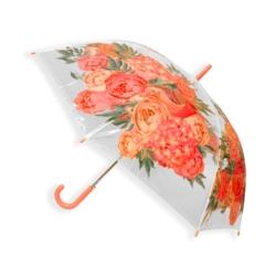 Parasol automatyczny długi foliowy - kwiaty PAR50