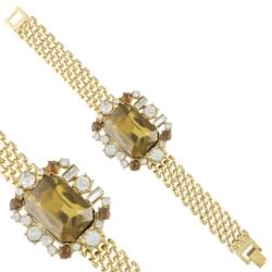 Bransoletka - kryształy na bransolecie - BRA1217