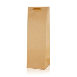 Torebki prezentowe na butelkę 36x11cm 12szt TP395