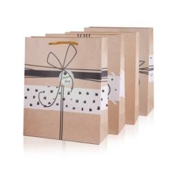 Torebki prezentowe - 4 wzory - 32x26cm 12szt TP401