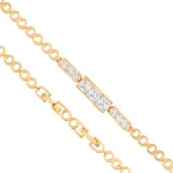 Bransoletka z kryształkami - Xuping - BP4316