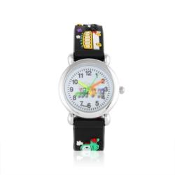 Zegarek dziecięcy czarny - pociąg - Z920