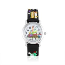 Zegarek dziecięcy czarny - pociąg - Z921