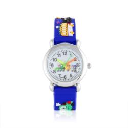 Zegarek dziecięcy niebieski - pociąg - Z922