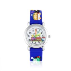 Zegarek dziecięcy niebieski - pociąg - Z923