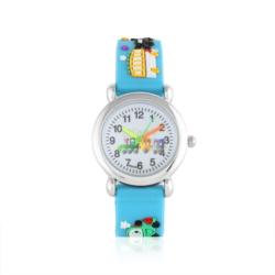 Zegarek dziecięcy błękitny - pociąg - Z924