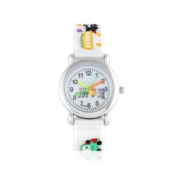 Zegarek dziecięcy biały - pociąg - Z926