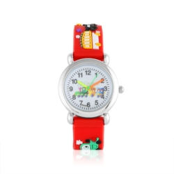Zegarek dziecięcy czerwony - pociąg - Z928