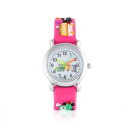 Zegarek dziecięcy różowy - pociąg - Z930