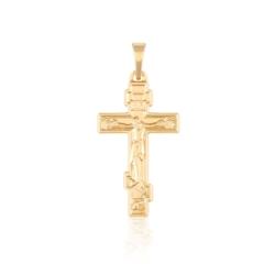 Przywieszka - krzyżyk prawosławny - Xuping PRZ2032