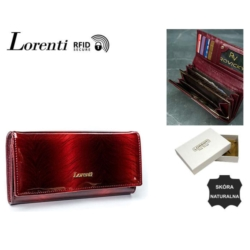 Portfel damski - 76111-KCR-RFID red - P771