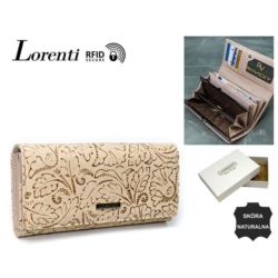 Portfel damski - 72401-KCR-RFID gold - P783