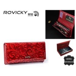 Portfel damski - 8802-JXW red - P786