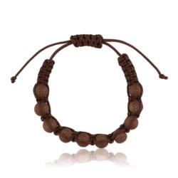 Bransoletka drewniana - dziesiątka różańca - RO103