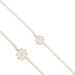 Bransoletka - kryształowy kwiat - BRA1227