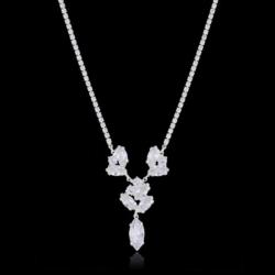 Naszyjnik - czeskie kryształy - N-2022 - NA1480