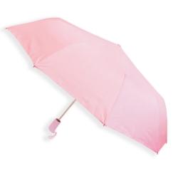 Parasol automatyczny krótki - różowy - PAR66