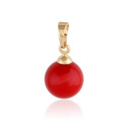 Przywieszka - czerwona perełka - Xuping PRZ2038