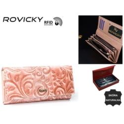Portfel damski - 8802-JXW/5787 Pink - P808