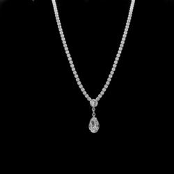 Naszyjnik - czeskie kryształy N-2010 41/24 NA1481