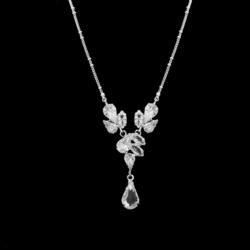 Naszyjnik - czeskie kryształy N-2006 41/30 NA1483