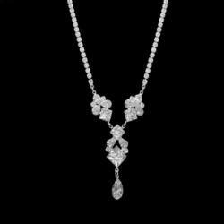 Naszyjnik - czeskie kryształy N-2012 41/49 NA1489