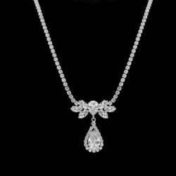 Naszyjnik - czeskie kryształy N-2016 41/21 NA1490