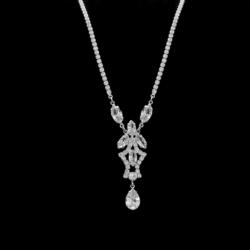 Naszyjnik - czeskie kryształy N-2021 41/5 NA1492