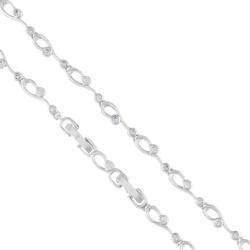 Bransoletka z kryształkami -  BP4354