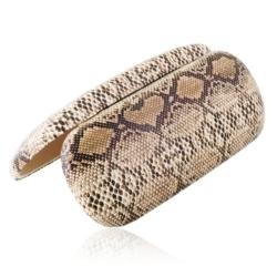 Etui na okulary - wężowy wzór - EO155