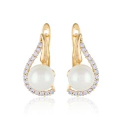 Kolczyki z perłą - Xuping EAP10311