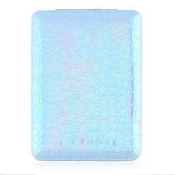 Lusterko kosmetyczne otwierane niebieskie - MUP157