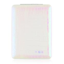 Lusterko kosmetyczne otwierane białe - MUP159