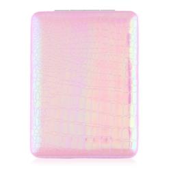 Lusterko kosmetyczne otwierane jasnoróżowe MUP160