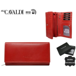 Portfel damski - rd-12-GCL red - P837