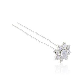 Kokówka - kryształkowy kwiatek - 7cm - SZPIL40