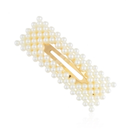Spinki do włosów z perłami - klejone 7,5cm - OS438