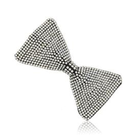 Spinki do włosów edytki kryształowe kokardki OS440