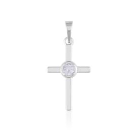 Przywieszka - krzyżyk - Xuping - PRZ2081