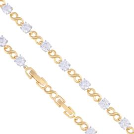 Bransoletka z kryształkami - Xuping - BP4486