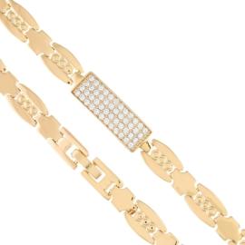 Bransoletka z kryształkami - Xuping - BP4507