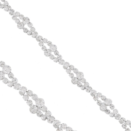 Bransoletka - kryształowa spiralka - BRA1353